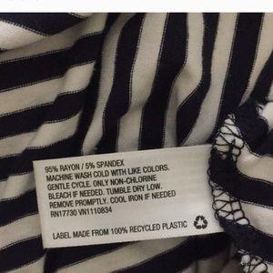 Merona Dresses - Merona Maxi Dress Navy & White Chevron
